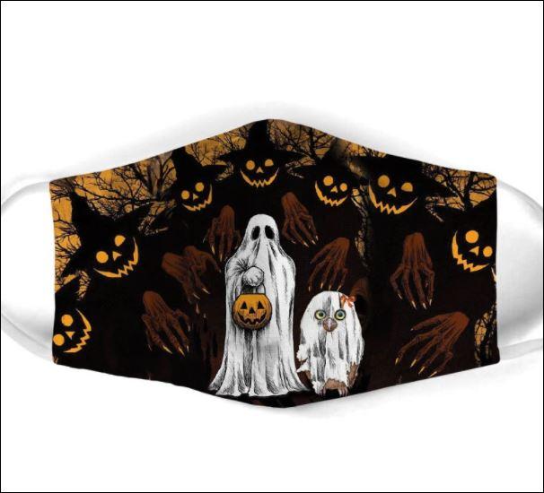 Halloween boo face mask