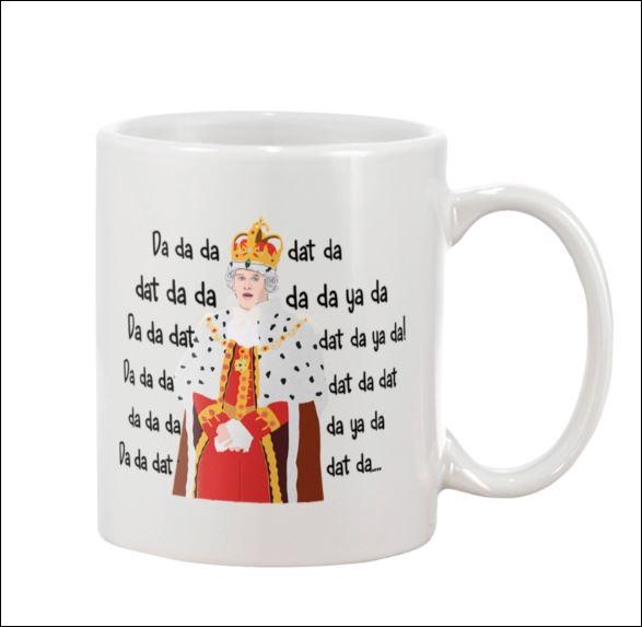 Hamilton King George Chorus da da da mug