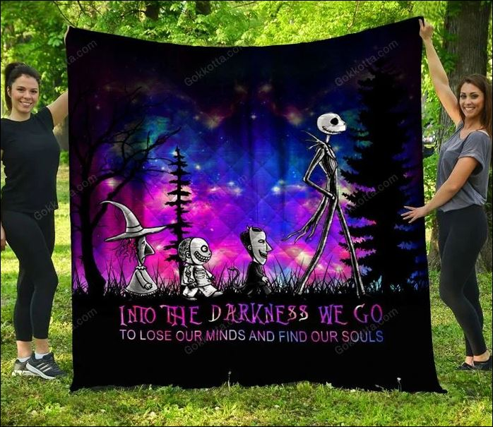 Jack Skellington into the darkness we go to lose our minds and find our soul quilt