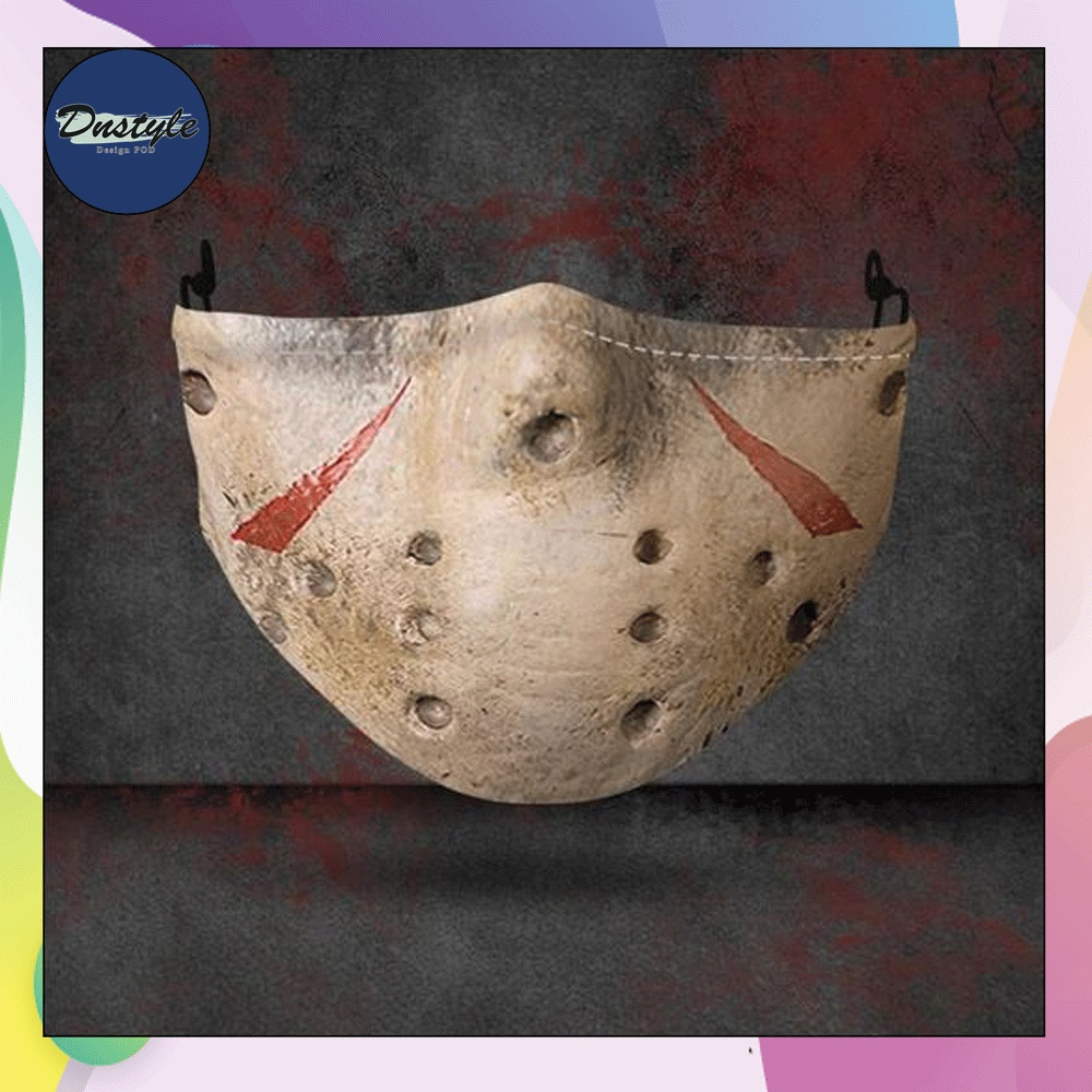 Jason Voorhees mouth 3D face mask