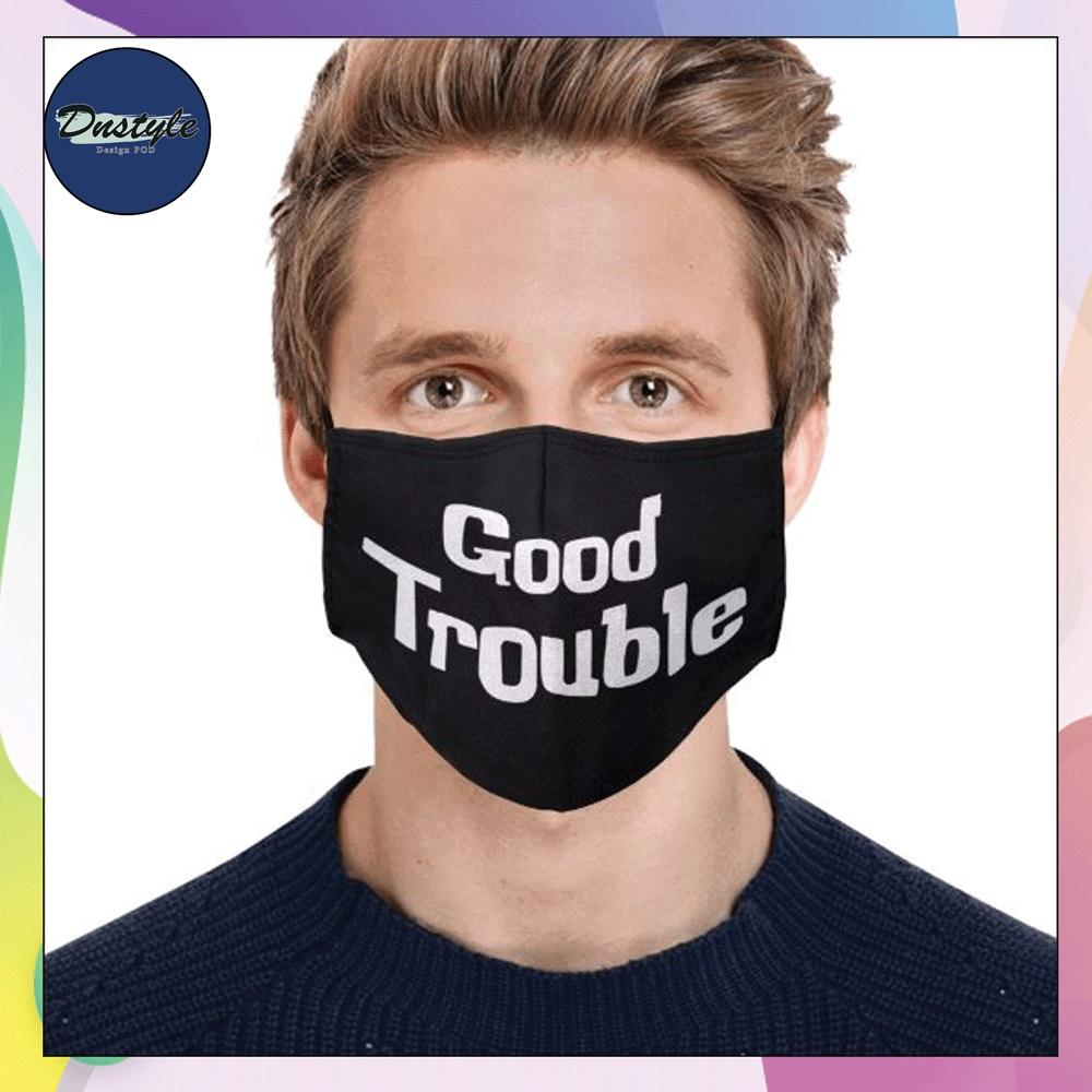 John Lewis Good Trouble face mask