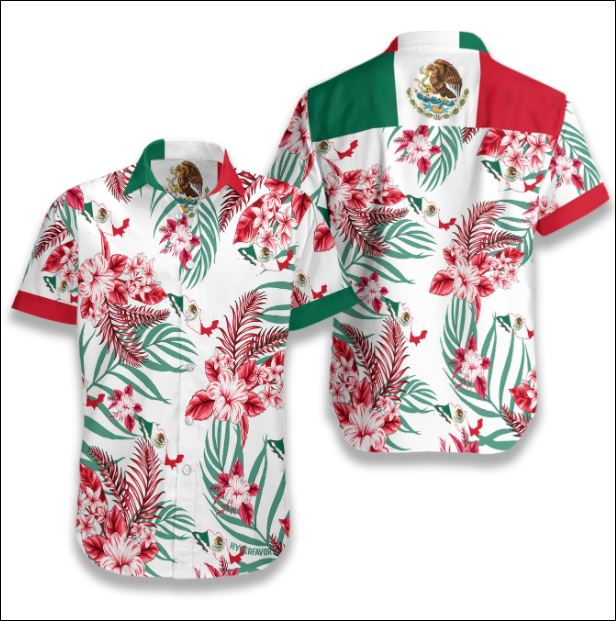 Mexico tropical hawaiian shirt