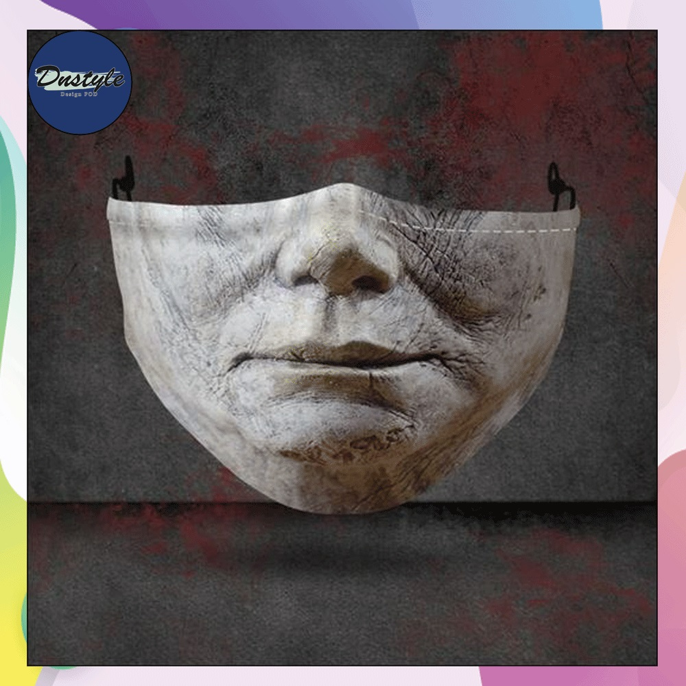Michael Myers mouth 3D face mask