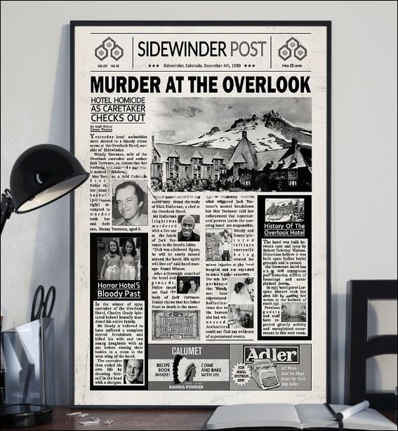 Murder at the overlook poster 2