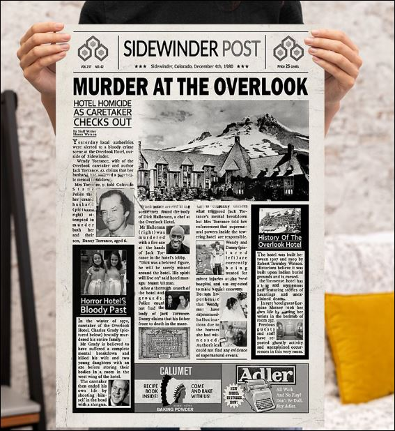 Murder at the overlook poster 3