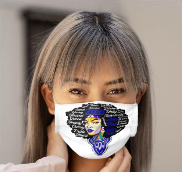 Phi Beta Sigma 1920 girl face mask