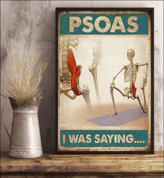 Psoas i was saying poster 3