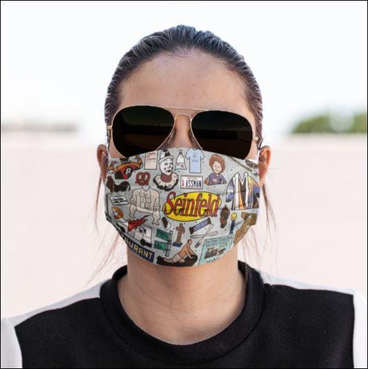 Restaurant seinfeld face mask