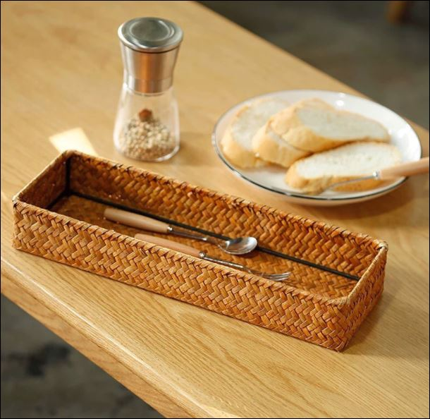 Seagrass Storage Tray rattan bamboo 1