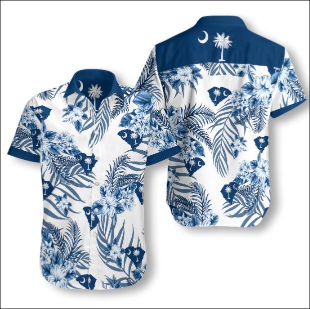 South Carolina tropical hawaiian shirt