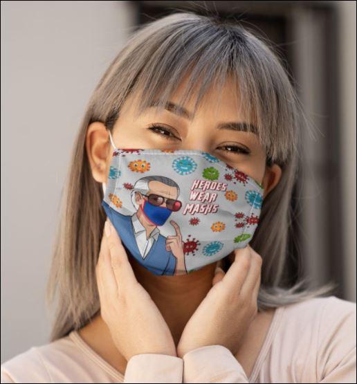 Stan Lee heroes war masks coronavirus face mask