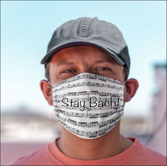 Stay bach chord face mask