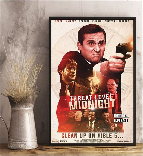 Threat level midnight clean up on aisle 5 poster 3