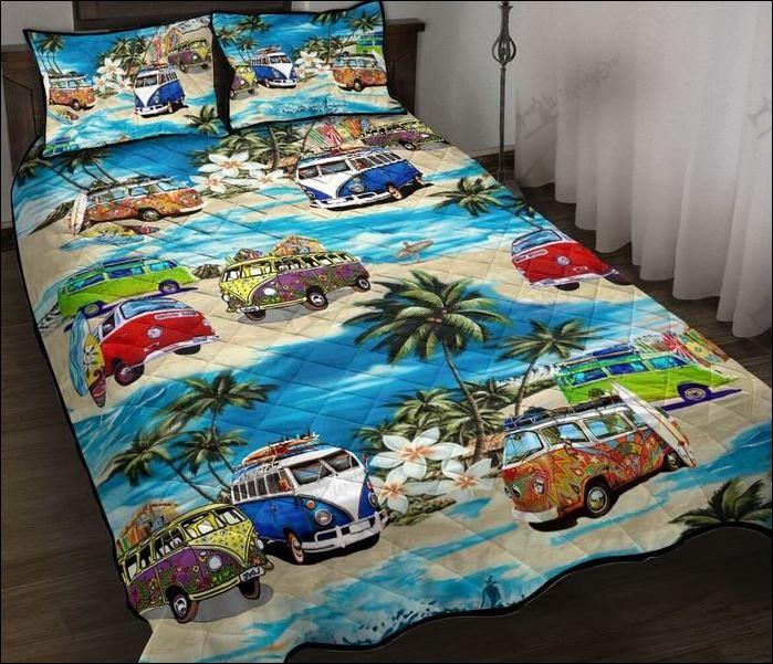 Volkswagen car hawaiian quilt 1