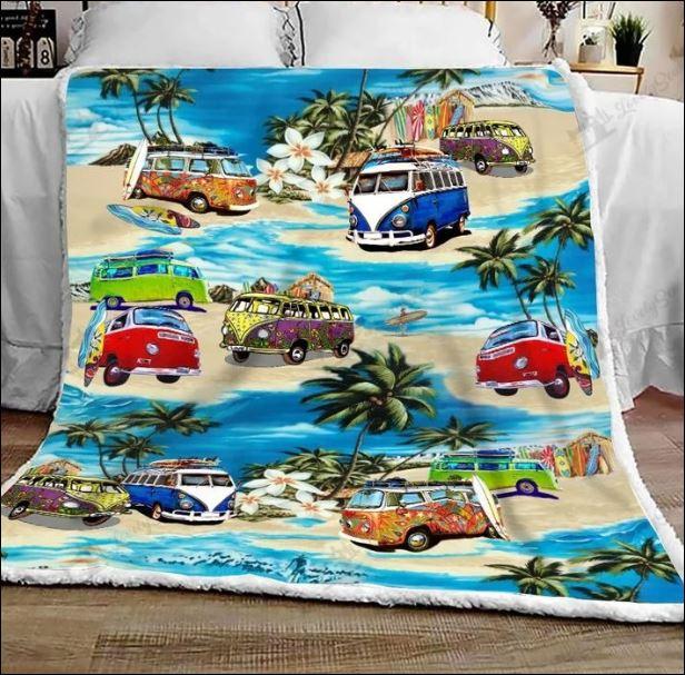 Volkswagen car hawaiian quilt