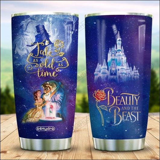 Beauty and the Beast tale as old as time tumbler