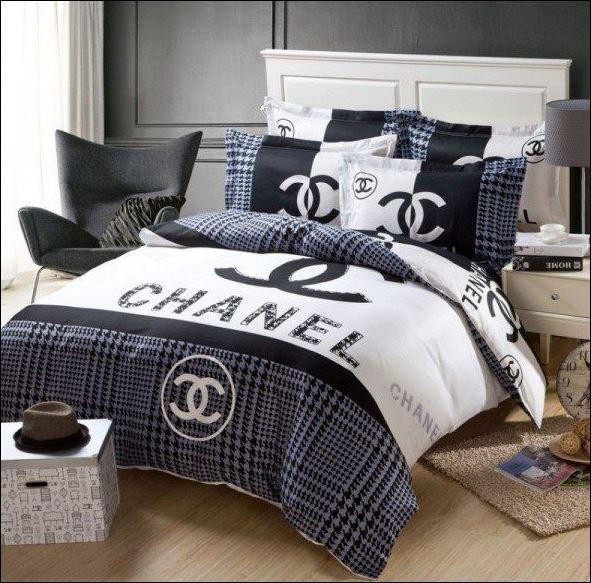 Chanel bedding set