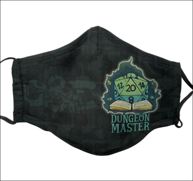 Dungeon master face mask