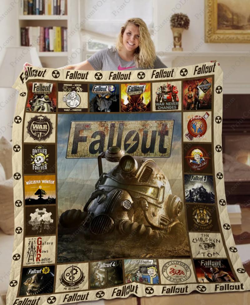 Fallout 3D quilt