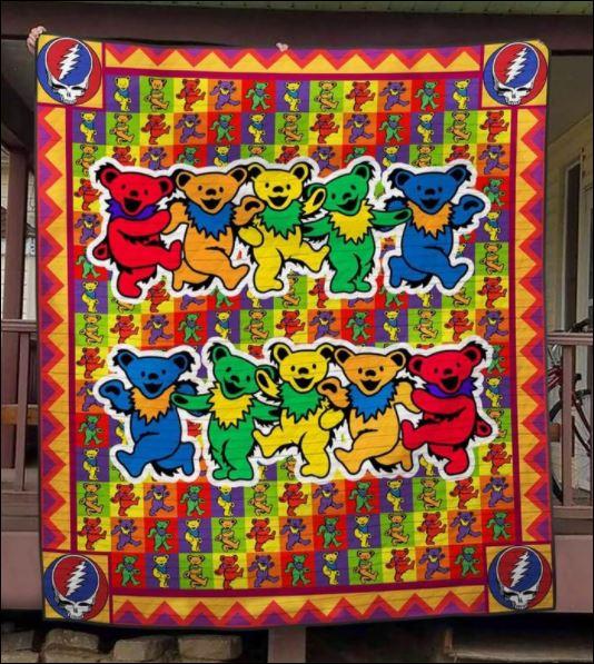 Grateful Dead 3D quilt