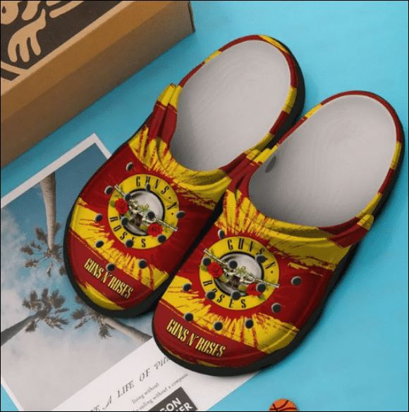 Guns N' Roses crocs crocband