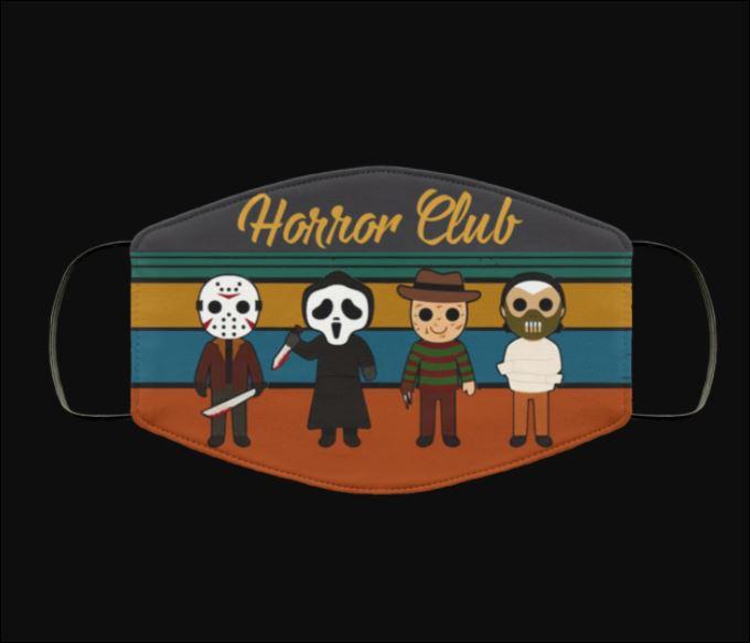 Horror club chibi vintage face mask