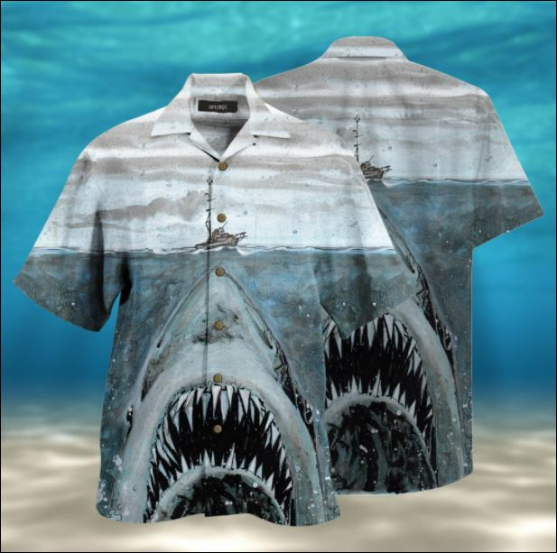 Jaws hawaiian shirt