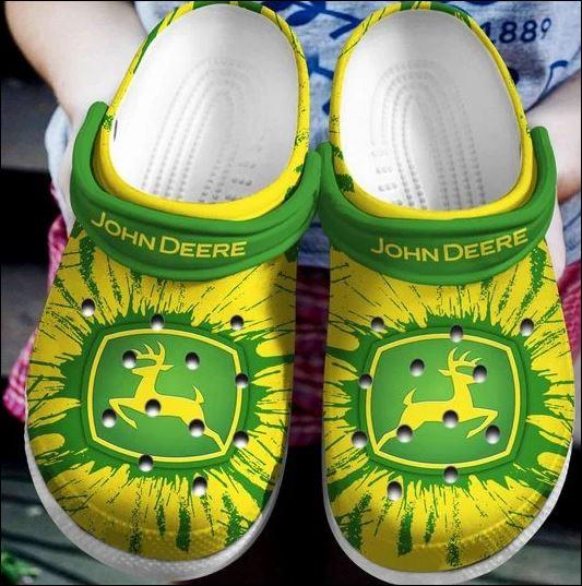 John Deere crocs crocband