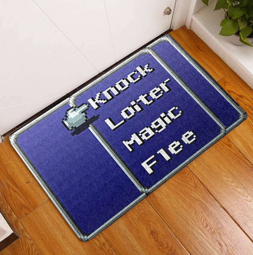 Knock loiter magi flee doormat