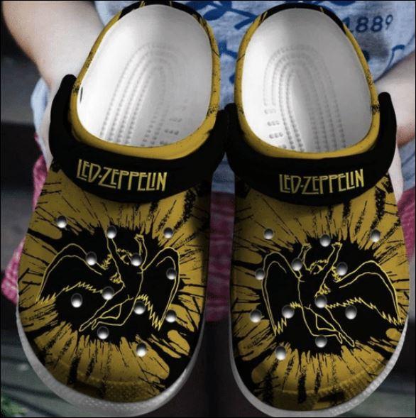 Led Zeppelin crocs crocband