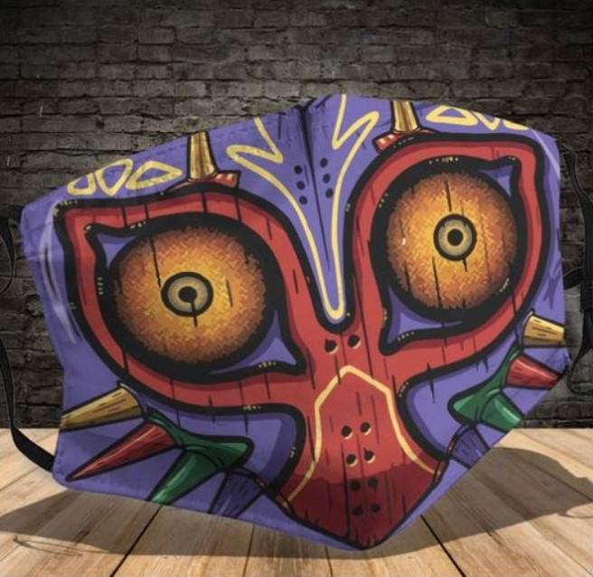 Majora The Legend of Zelda face mask