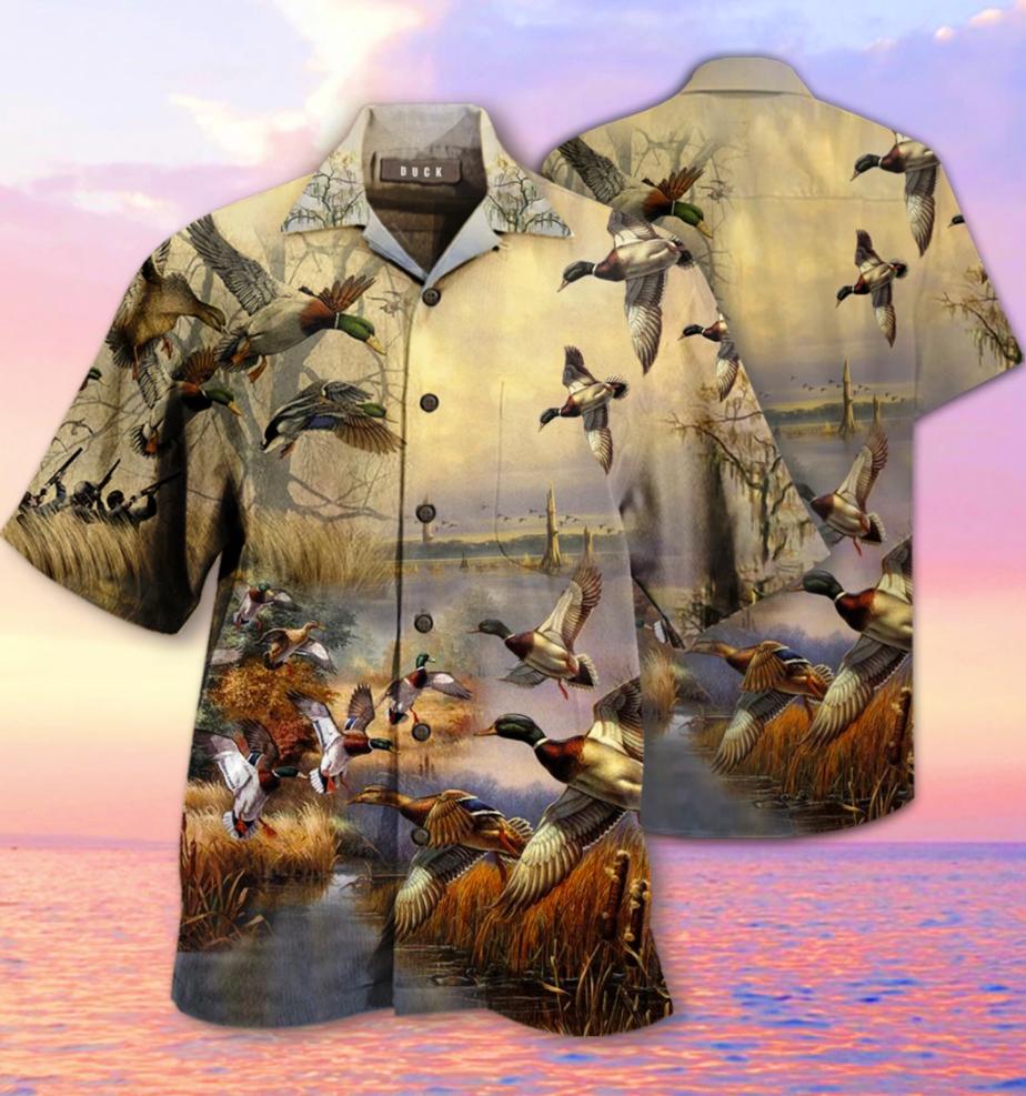 Mallards vintage hawaiian shirt