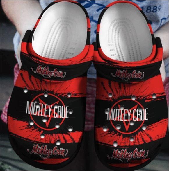 Motley Crue crocs crocband