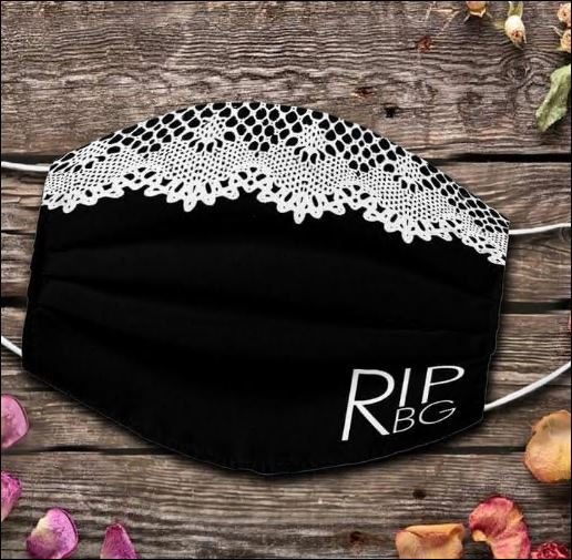 RIP RBG face mask