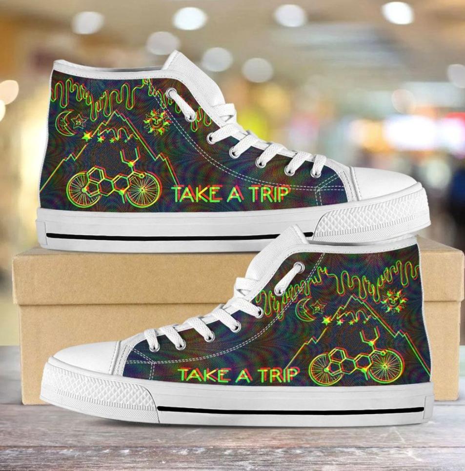 Take a trip high top shoes 2