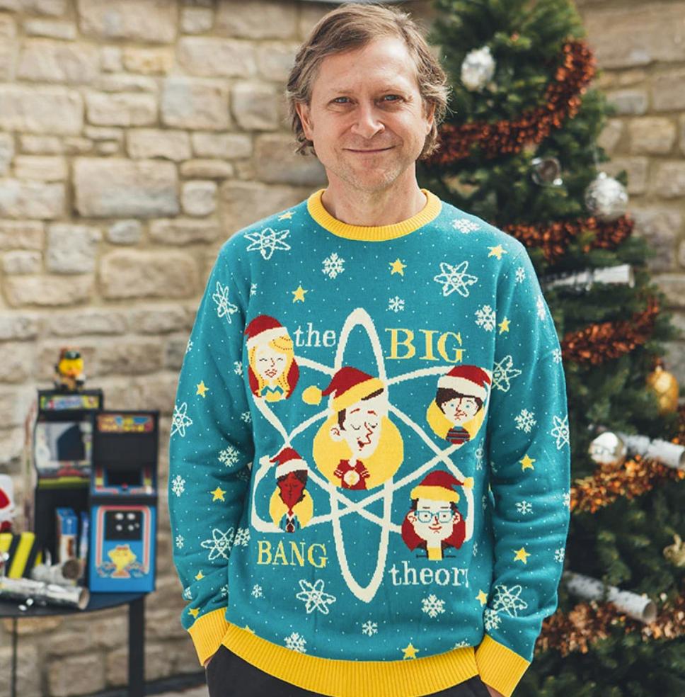 The Big Bang theory ugly sweater