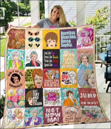 The Golden Girl 3D quilt