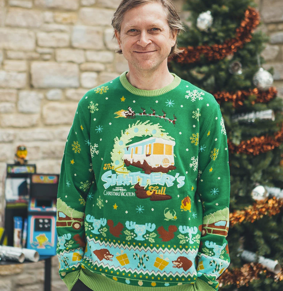 The shitter's full ugly sweater