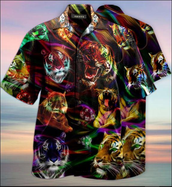 Tiger unisex hawaiian shirt