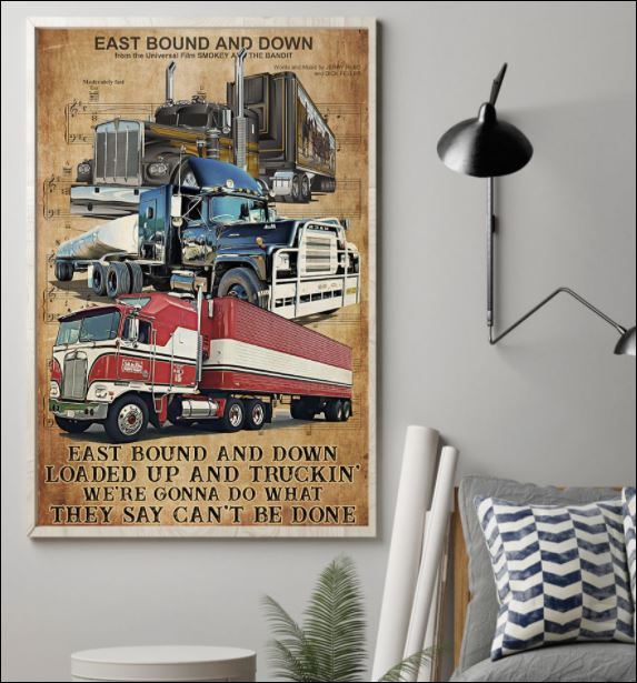 Truck east bound and down poster 1