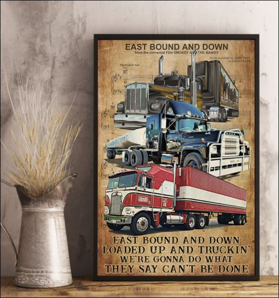 Truck east bound and down poster 2