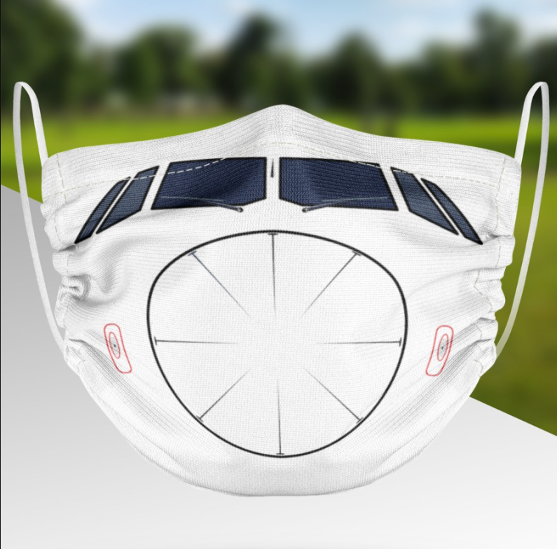 Airbus A320 face mask