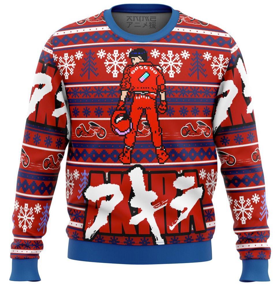 Akira Kaneda ugly sweater