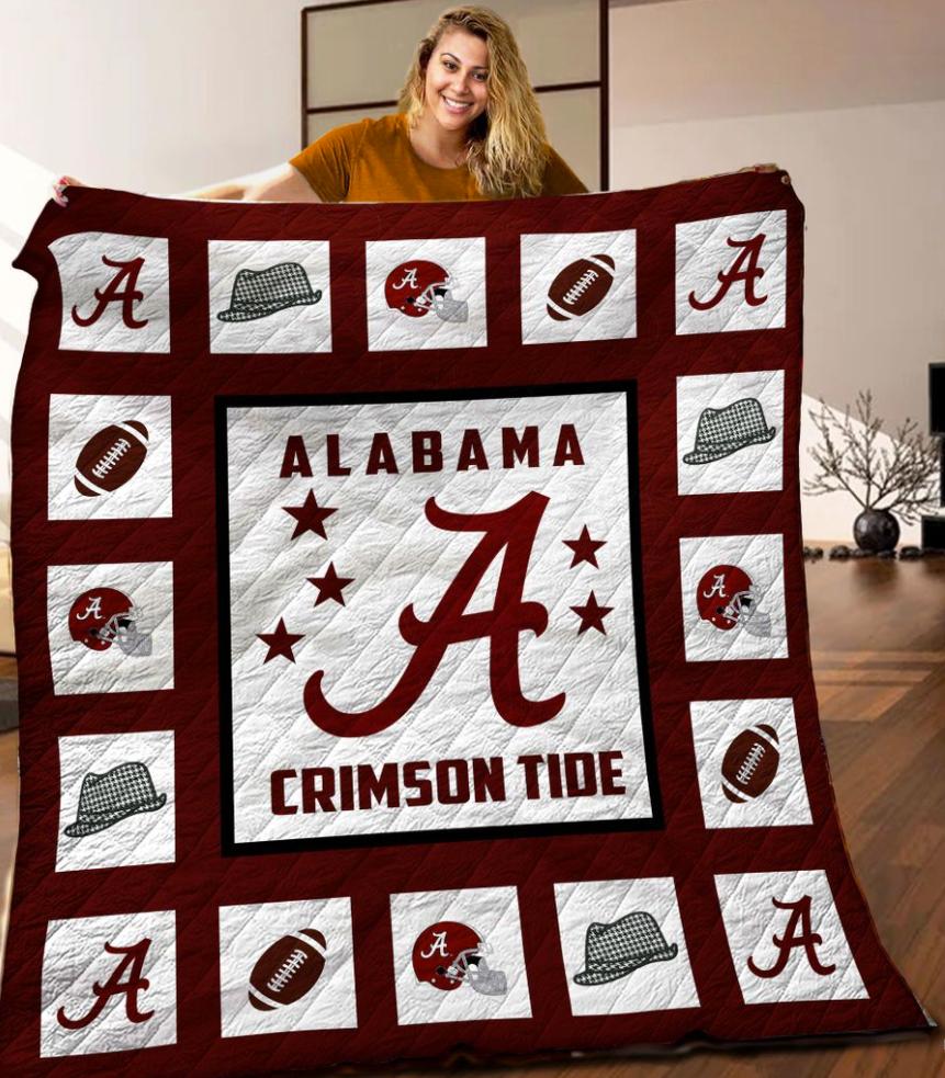 Alabama Crimson Tide 3D quilt 1