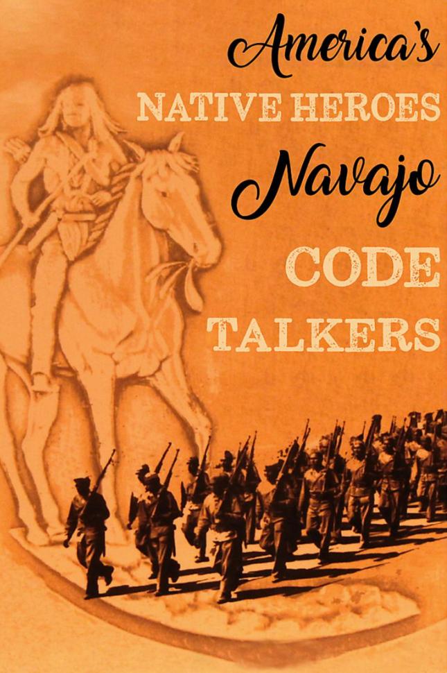 America's native heroes navajo code talkers poster