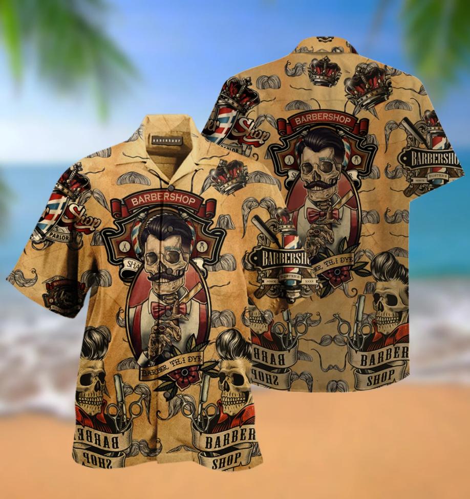 Barbershop hawaiian shirt
