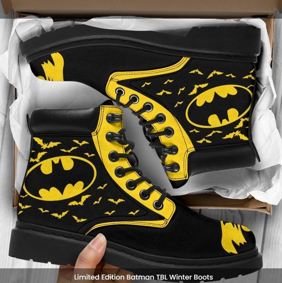 Batman timberland boots