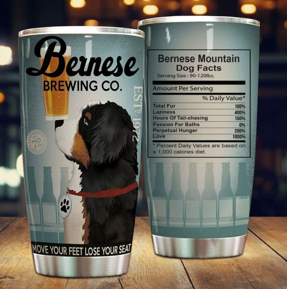 Bernese brewing co tumbler