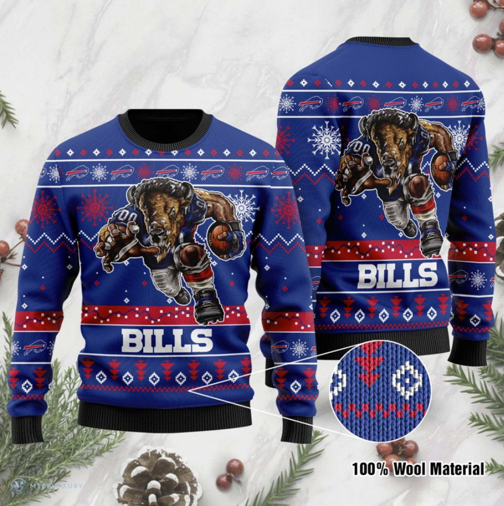 Buffalo Bills ugly sweater