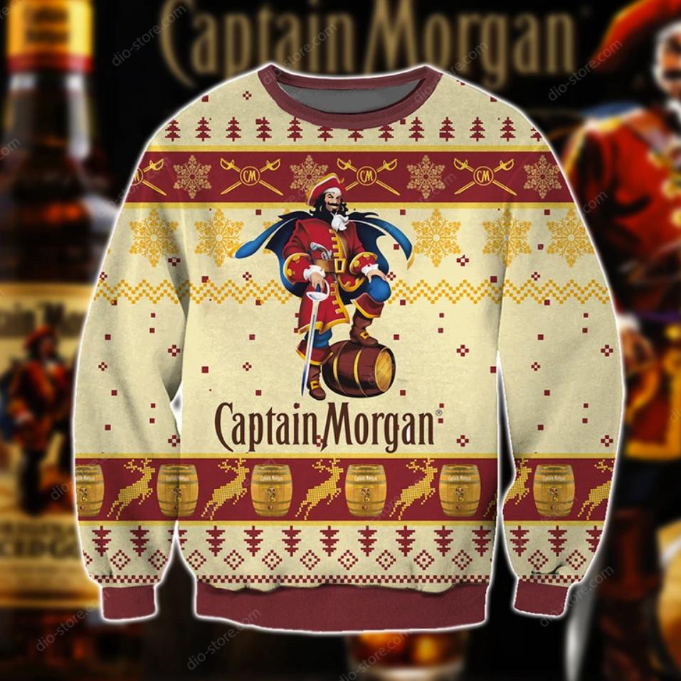 Captain Morgan ugly sweater